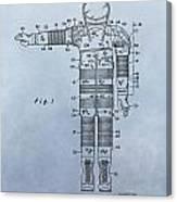Flight Suit Patent Canvas Print