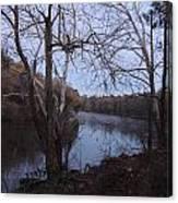 Flint River 4 Canvas Print