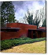 Fllw Rosenbaum Usonian House - 1 Canvas Print