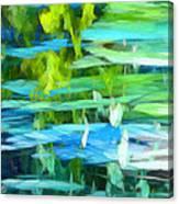 Float 4 Vertical Canvas Print