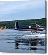 Float Planes On Keuka Canvas Print