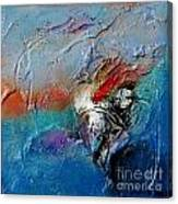 Floating By I Canvas Print
