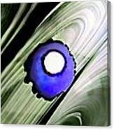 Floating Dot Abstract Alcohol Inks Canvas Print