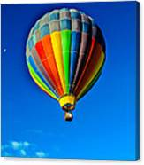 Floating Free In A Hot Air  Balloon Canvas Print