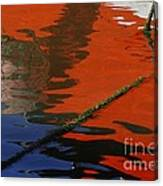 Floating On Blue 26 Canvas Print