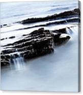Floating Stone Canvas Print