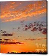 Floating Sunset Canvas Print
