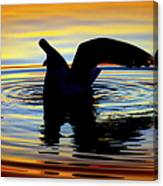Floating Wings Canvas Print