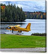 Floatplane In Fall Canvas Print
