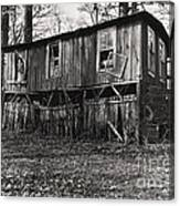Flood House In Mississippi Delta Canvas Print