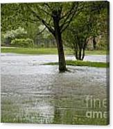 Flooded Park Canvas Print