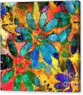 Floral Abstract Photoart Canvas Print