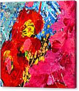 Floral Abstract Part 1 Canvas Print