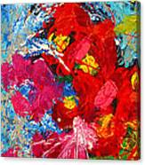 Floral Abstract Part 3 Canvas Print