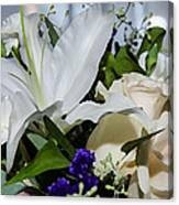 Floral Arrangement  Canvas Print