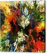 Floral Art Xiv Canvas Print