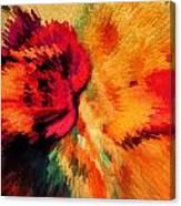 Floral Art Xxi Canvas Print