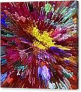 Floral Art Xxiv Canvas Print