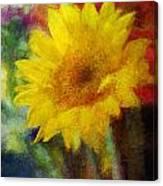 Floral Art Xxxvi Canvas Print