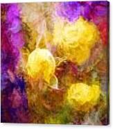 Floral Art Xxxxv Canvas Print