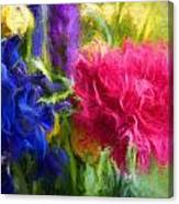 Floral Art Xxxxvi Canvas Print