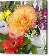 Floral Bouquet 3 Canvas Print