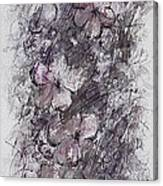 floral cascade II Canvas Print