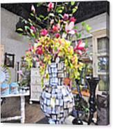 Floral Decor Canvas Print