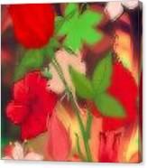 Floral Escapade  Canvas Print