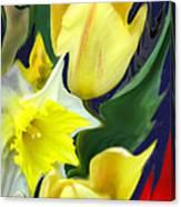 Floral Flow Canvas Print