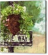 Floral - Flowers - One Way Canvas Print