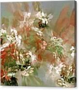 Floral Fractal 030713 Canvas Print