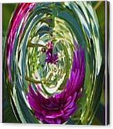 Floral Illusion 1 Canvas Print