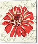 Floral Inspiration 1 Canvas Print