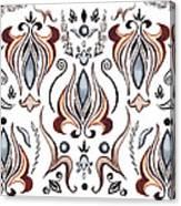 Floral Pattern I Canvas Print