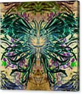 Floral Synapse 2 Canvas Print
