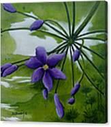 Floral Triptych 3. Canvas Print