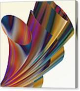 Floral Trumpets Canvas Print