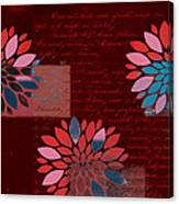 Floralis - 833 Canvas Print