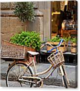 Florence Bicycle  Canvas Print