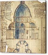 Florence: Brunelleschi Canvas Print