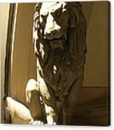 Florence Lion Canvas Print