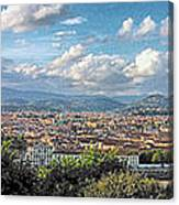 Florence Panorama Canvas Print