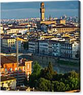 Florence Panorama Canvas Print