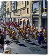 Florence Parade Canvas Print