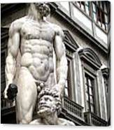 Florence Statue Canvas Print