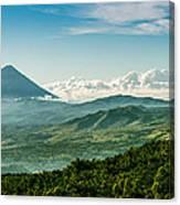 Flores Volcano Canvas Print