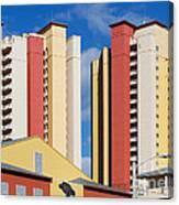 Florida Condos Canvas Print
