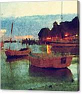 Florida Harbor Canvas Print