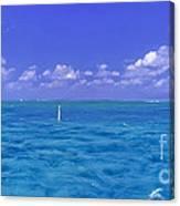 Florida Keys Marathon Intercoastal Waterway 3 Canvas Print